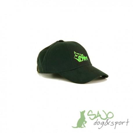 Czapka z daszkiem D4M -kolor zielony