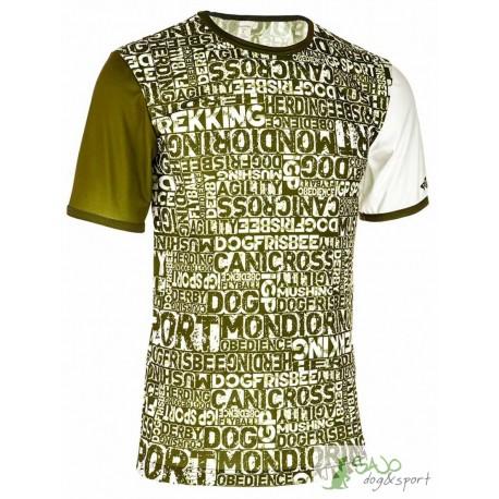 Koszulka Dog Sport unisex - khaki