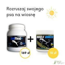 Pakiet AniFlexi + (500 g) i  Muscle Booster (250 g)