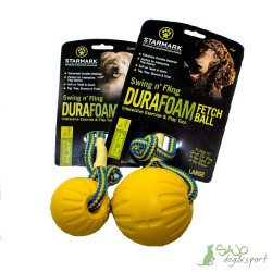 Piłka Starmark Swing and Fling Durafoam Fetch Ball
