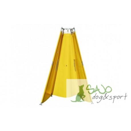 Namiot składany duży z przejściem