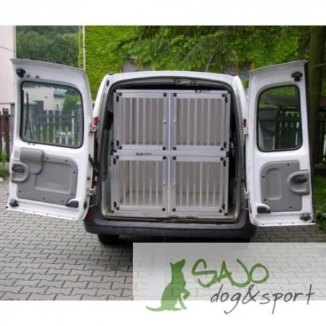 Box4Dogs Renault Kangoo 4 boks