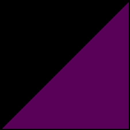 Czarno-ciemno fioletowy